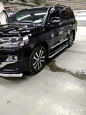 Защита порогов для Toyota Land Cruiser 200 ( Executive 2016-), фото 2
