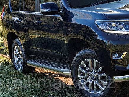 Защита порогов для Toyota Land Cruiser Prado 150 (2017г-), фото 2
