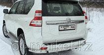 Защита заднего уголки одинарные для Toyota Land Cruiser Prado 150 (2017г-), фото 2