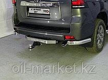 Защита заднего уголки одинарные для Toyota Land Cruiser Prado 150 (2017г-), фото 3