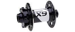 Sram  втулка  передняя диск MTB  X9 6-Bolt - 32H 15x100mm