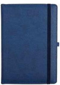 Ежедневник датированный Voyage, 2021 г., А5, 176 л, синий