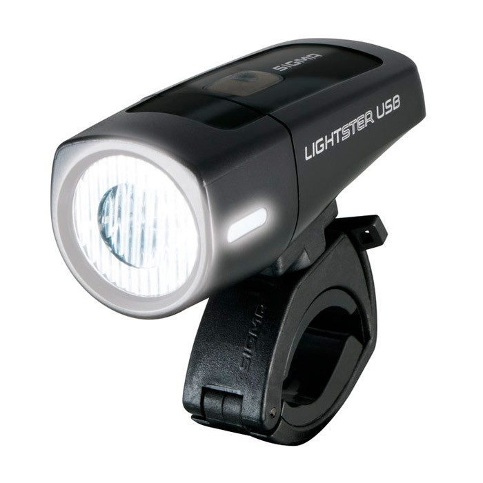 Sigma  фара передняя Lightster Light USB