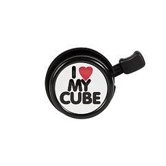 Cube  звонок I Love My - black