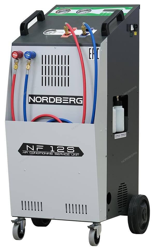 Автоматическая установка для заправки автомобильных кондиционеров, 12 л NORDBERG