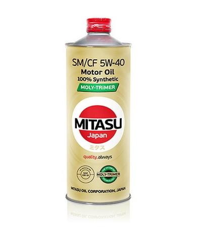 Синтетическое моторное масло MITASU SM/CF 5W-40 Synthetic 1L