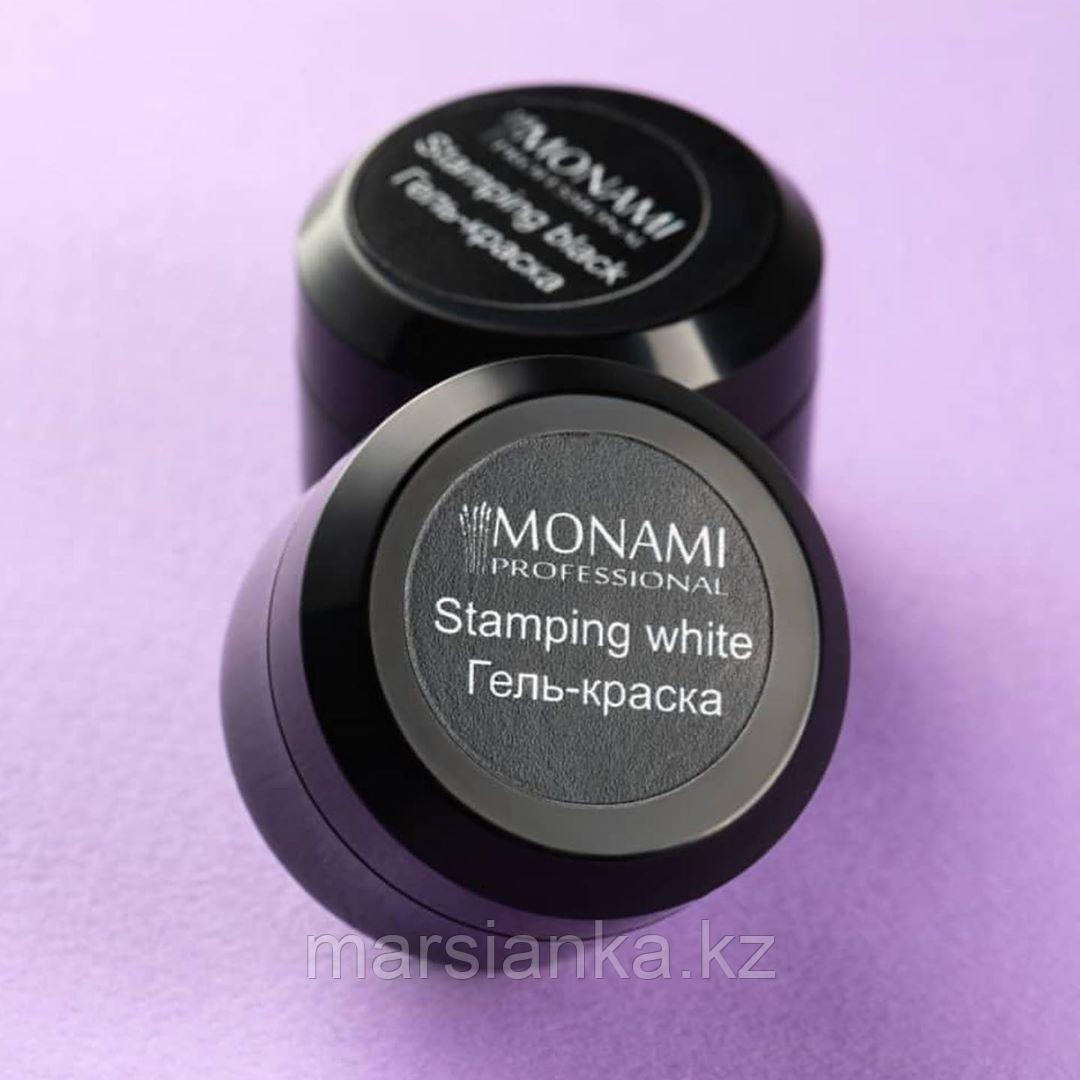 Гель-краска Monami Stamping WHITE, 5 гр