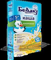 Детская молочная кукурузная каша Беллакт