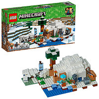 LEGO Minecraft ЛЕГО Майнкрафт Иглу 21142