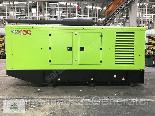 Дизельный генератор GENPOWER GNT 200 ( в кожухе)
