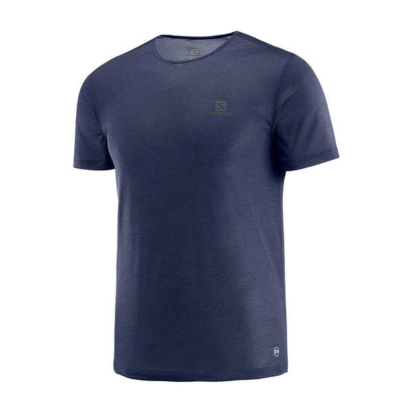 Salomon  футболка мужская Cosmic Crew Ss Tee