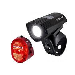 Sigma  комплект фонарей Buster 100 HL / Nugget II Flash usb k-set