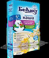 Детская молочная кукурузно-овсяная каша с грушей