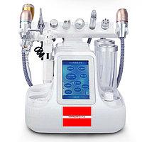 Комбайн 10в1 аквапилинг, смас, вакуум, микротоки, крио, RF, ультразвук, мезо, led маска, фото 1