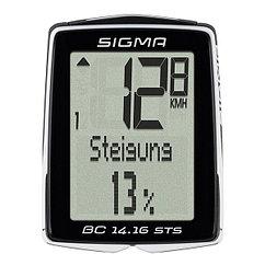 Sigma  велокомпьютер BC 14.16 STS CAD