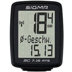 Sigma  велокомпьютер BC 7.16 ATS