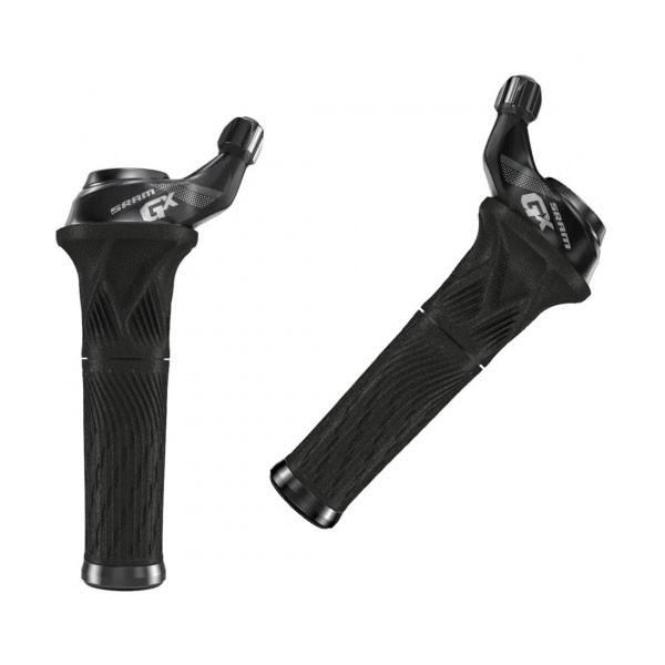 Sram  шифтеры GX Grip Shift set 11 Speed Rear 2 Speed Index Frontwith Locking Grip blk