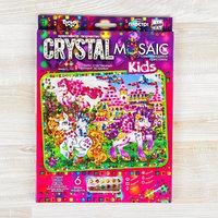 Набор для создания мозаики серии 'CRYSTAL MOSAIC. Пони', на тёмном фоне