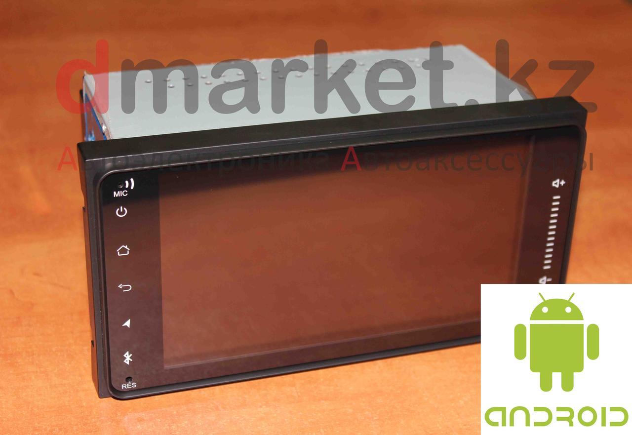Автомагнитола Android 7023HG, Toyota универсальная, 7 дюймов, Wi-Fi, GPS, ОЗУ 1Гб, память 16 Гб