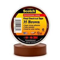 3М SCOTCH 35 Виниловая лента коричневая US