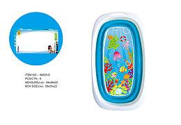 Fitch Baby Ванночка силиконовая складная (голубая)