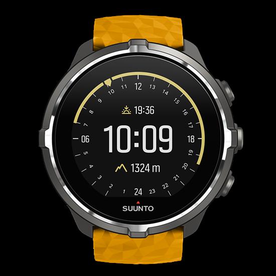 Suunto  часы Spartan Sport Wnr Baro Amber+Belt