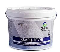 Грунтовка акриловая  «КВАРЦ-ГРУНТ» GRAND VICTORY для пола, стен и потолков, цвет белый 5 кг