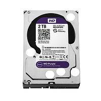 Жёсткий диск для видеонаблюдения Western Digital Purple HDD 2Tb WD20PURX, фото 1