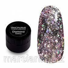 Гель-лак Monami Diamond Galaxy, 5 гр (платиновый)
