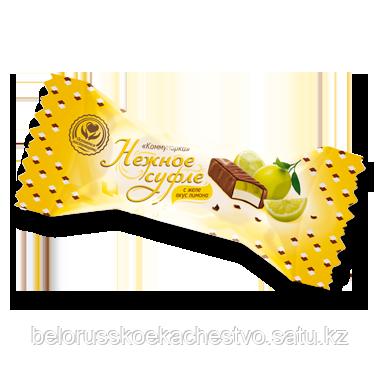 Конфеты Коммунарка Коммунарка нежное суфле-желе вкус лимона