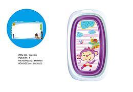 Fitch Baby Ванночка силиконовая складная (фиолетовая)