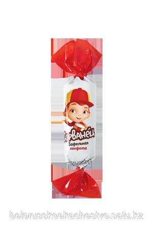 Конфеты Коммунарка Сорванец Вафельная конфета со вкусом лесных ягод и пломбира