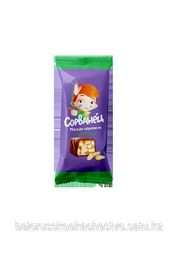 Конфеты Коммунарка Сорванец Мягкая карамель с орешками