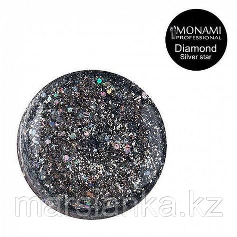 Гель-лак Monami Diamond Silver Star, 5гр (платиновый), фото 2