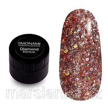 Гель-лак Monami Diamond Stardust, 5 гр (платиновый)