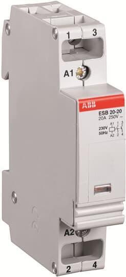 GHE3211102R0006 Модульный контактор ESB-20-20 (20А AC1) 220 В АС