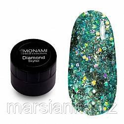 Гель-лак Monami Diamond Skyfall, 5 гр (платиновый), фото 2