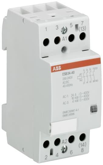 GHE3291402R0006 Контактор модульный ESB-24-20 (24А AC1) катушка 230В AC/DC 2 НО