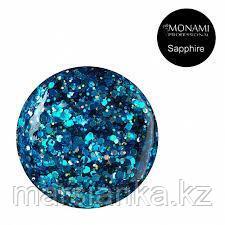 Гель-лак Monami с блеском Sapphire, 5 гр