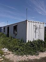 Вагоны строительные жилые