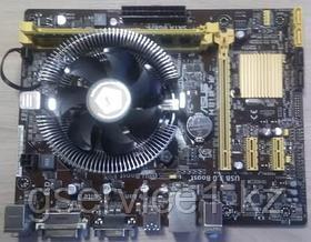 Asus H81M-K, LGA1150 в сборе