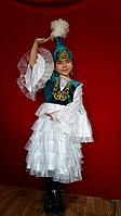 Детское платье и саукеле для девочки.