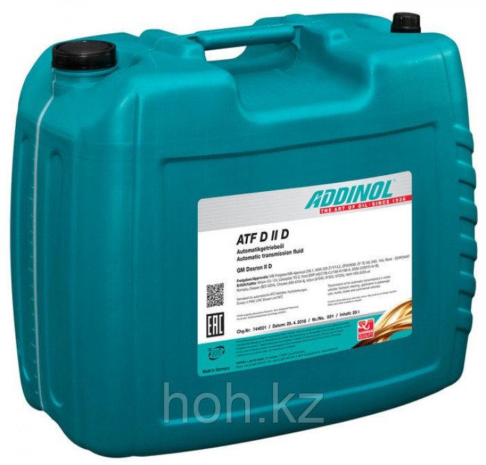 Трансмиссионное масло ADDINOL ATF Dexron D II D (E)
