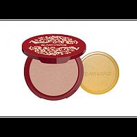 ART-VISAGE Пудра компактная  SILK MATTE для всех типов кожи тон 24 темно-бежевый