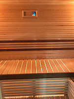 Реконструкция русской бани с дровяной печью. Размер = 2,5 х 1,7 х 2,1 м. Адрес: г. Алматы, Калкаман, мкр-н Шугыла, ул. Сыгай. 3