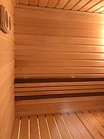 Реконструкция русской бани с дровяной печью. Размер = 2,5 х 1,7 х 2,1 м. Адрес: г. Алматы, Калкаман, мкр-н Шугыла, ул. Сыгай. 4