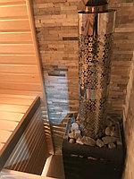 Реконструкция русской бани с дровяной печью. Размер = 2,5 х 1,7 х 2,1 м. Адрес: г. Алматы, Калкаман, мкр-н Шугыла, ул. Сыгай. 8