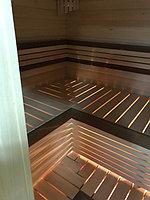Реконструкция русской бани с дровяной печью. Размер = 2,5 х 1,7 х 2,1 м. Адрес: г. Алматы, Калкаман, мкр-н Шугыла, ул. Сыгай. 11
