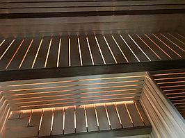 Реконструкция русской бани с дровяной печью. Размер = 2,5 х 1,7 х 2,1 м. Адрес: г. Алматы, Калкаман, мкр-н Шугыла, ул. Сыгай. 12