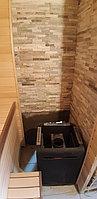 Реконструкция русской бани с дровяной печью. Размер = 2,5 х 1,7 х 2,1 м. Адрес: г. Алматы, Калкаман, мкр-н Шугыла, ул. Сыгай. 15